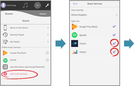 Music Control (for Android) | Application | Audio | Digital AV