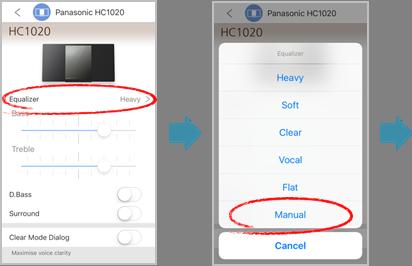 Bluetooth Equalizer App