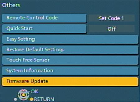 panasonic blu ray firmware update dmp-bdt110