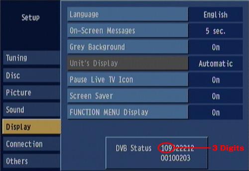 Panasonic dmr-ex77 firmware update.