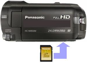 Insert SD Memory Card