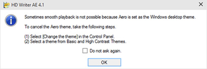Hd writer 2. 0e update program for windows 8 / windows 10.