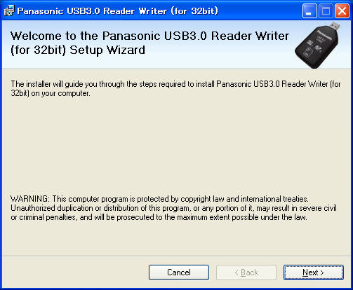 Utility software to USB 3 0 Reader/Writer BN-SDCMAB (for