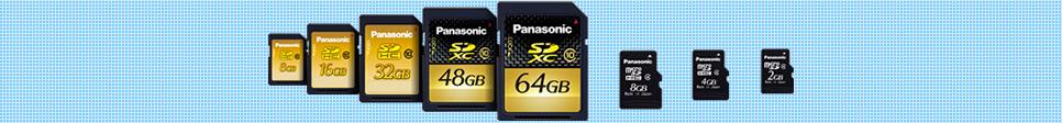 SD/SDHC/SDXC Memory Card Download - Panasonic