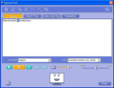 Scansoft voices download