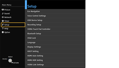 III HDMI HDR setting | Download Information of TV for HDR