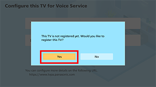 About Voice Control | TV | Digital AV Support | Panasonic